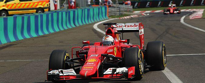 """F1, Gp d'Ungheria: lo sgarbo di Ecclestone alla Ferrari. Telecronista Rai: """"Vergognoso, scrivete alla Fom"""""""