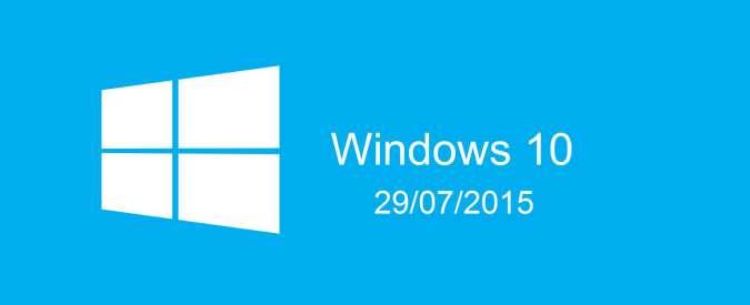 Windows 10 in uscita: assistente vocale, menu Start e addio Internet Explorer