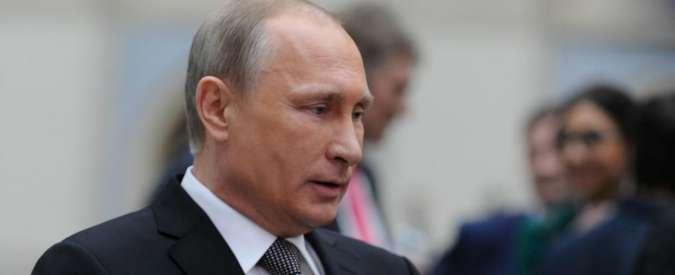 """Siria, Putin: """"Bashar Al Assad è pronto a dialogare con l'opposizione"""""""