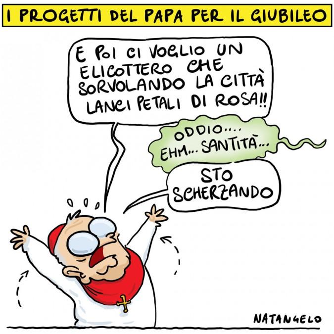 I progetti del Papa per il Giubileo