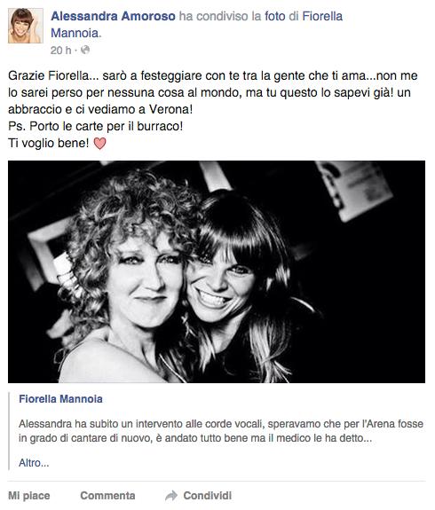 Alessandra Amoroso post 2