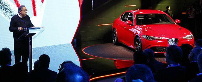"""Alfa Romeo, Marchionne: """"Giulia meglio delle tedesche"""". E dopo arriva la Suv"""
