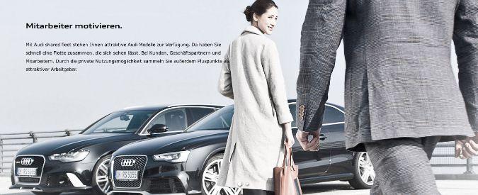 Audi, car sharing di lusso. Per le aziende e per chi vuole cambiare auto ogni giorno
