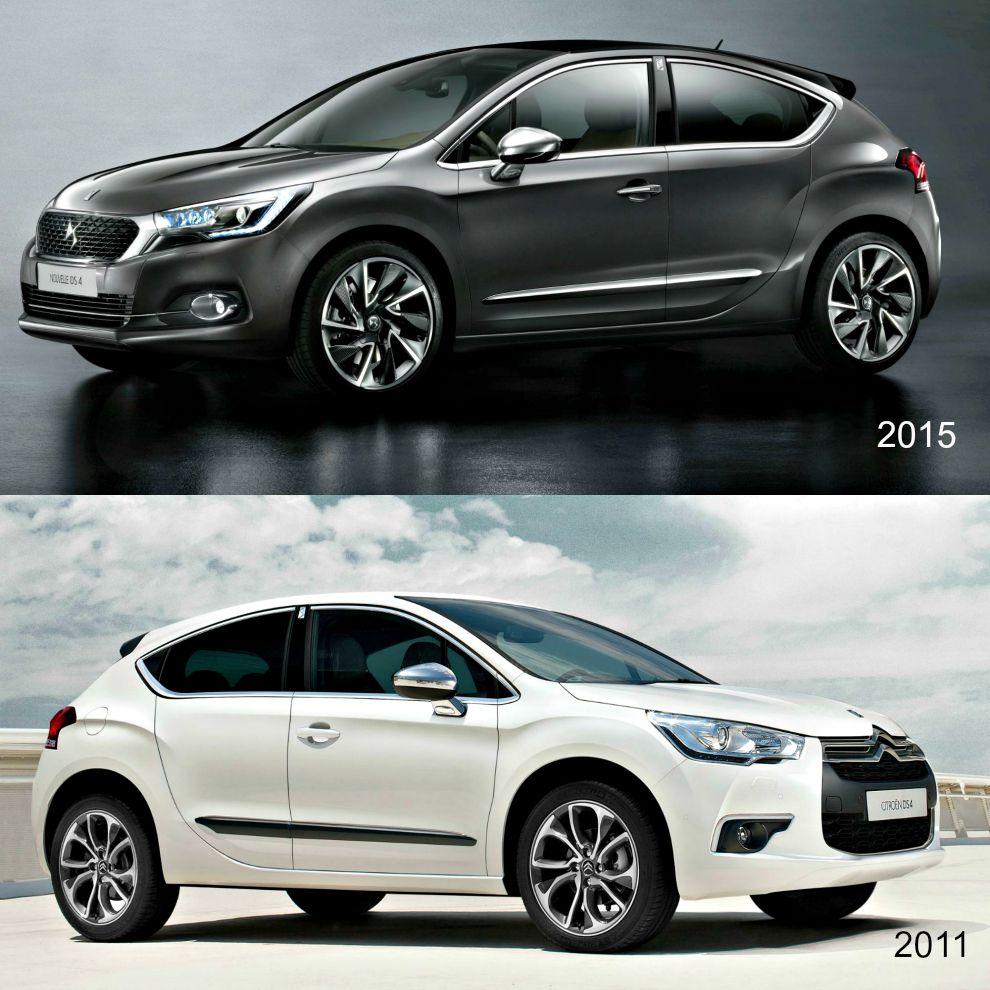 DS4 2011 2015 confronto