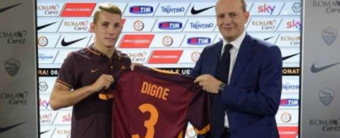 """Calciomercato Roma, si presenta Digne: """"Sono qui per Garcia e giocare in Champions"""""""
