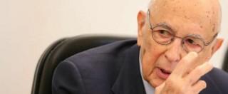 """Referendum riforme, Napolitano: """"Se vince il No è paralisi. Ma se vince il Sì non è trofeo di Renzi"""""""