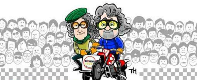 Italia 5 Stelle a Imola, Grillo e Casaleggio lanciano l'evento all'autodromo. Tema: M5S al governo