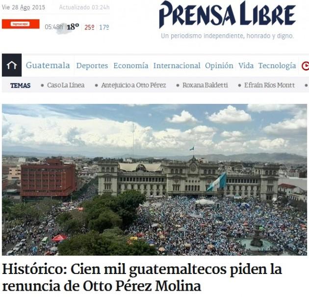 Guatemala- Otto Pèrez Molina