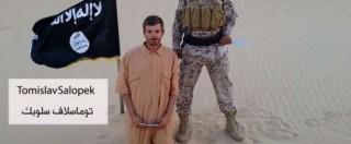 """Egitto, ultimatum di Isis: """"Liberate donne islamiche o uccidiamo prigioniero croato"""""""
