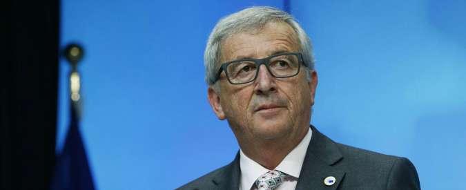 """Brexit, Juncker: """"Non sarà un divorzio consensuale. Non si rafforzerà asse Parigi-Roma-Madrid a danno di Berlino"""""""