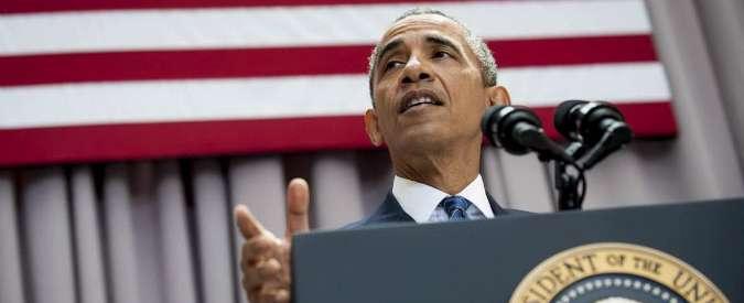 """Clima, Obama: """"No a oleodotto Keystone, Usa leader contro cambiamenti climatici"""""""