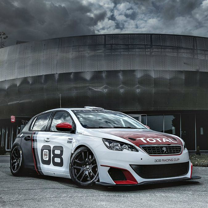 Salone di Francoforte 2015, Peugeot 308 Racing Cup, 308 CV per la pista