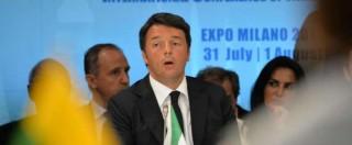"""Renzi: """"Amministratori locali devono lavorare di più per mettere a posto le nostre città"""""""