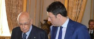 """Referendum costituzionale, Napolitano: """"Campagna partita male, ha favorito il no"""". Renzi incassa e ringrazia"""