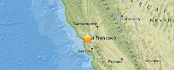 Terremoto San Francisco, scossa di magnitudo 4.0 in California