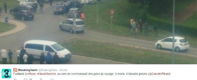 Francia, sparatoria in un campo nomadi: 4 morti, ucciso anche un bambino