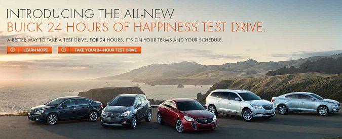 """""""Prova l'auto per 24 ore"""", in America Buick presenta i test drive lunghi"""