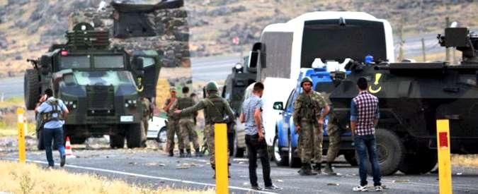Turchia, attacco a base militare: uccisi un soldato e due combattenti del Pkk