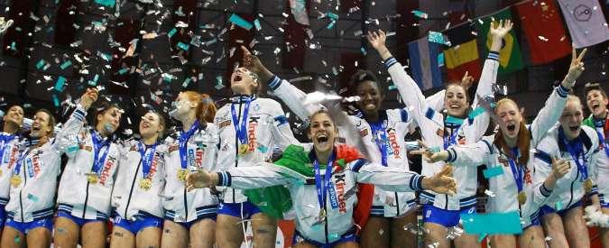 Mondiali pallavolo femminile 2015, Italia under 18 per la prima volta è medaglia d'oro. Paola Egonu miglior giocatrice