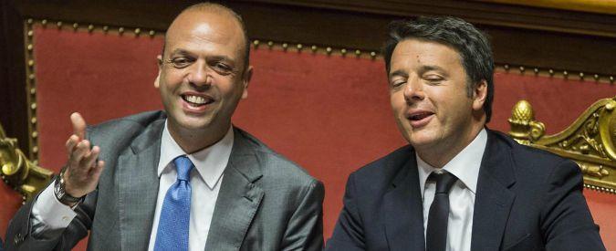 """Unioni civili, Alfano: """"Abbiamo un patto con Renzi. No alle adozioni gay per oggi e per domani"""""""