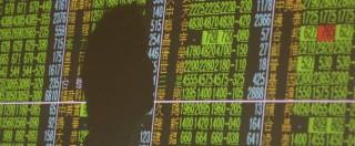 Borse, la sindrome cinese manda a picco le piazze finanziarie di tutto il mondo