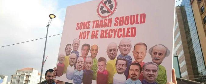 """YouStink, gli indignados libanesi contro corruzione e monnezza. """"Movimento trasversale nato sui social"""""""
