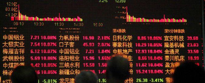 Borse, la Cina continua a far paura: Shanghai e Shenzen a picco. Europa debole