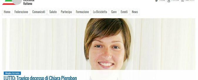 Chiara Pierobon, morta a 22 anni la promessa italiana del ciclismo femminile