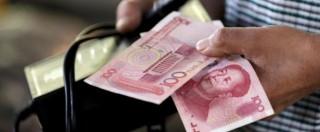 Cina, due svalutazioni dello yuan in 24 ore. Borse in rosso: temono calo consumi