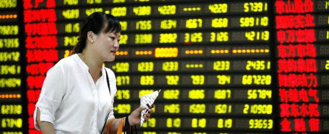 Cina, l'attività industriale rallenta in agosto. E manda in rosso le borse Ue