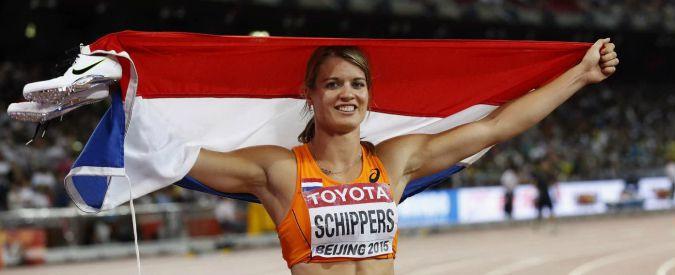 Mondiali atletica Pechino, Dafne Schippers è oro da record nei 200 donne. L'olandese stacca le schegge giamaicane
