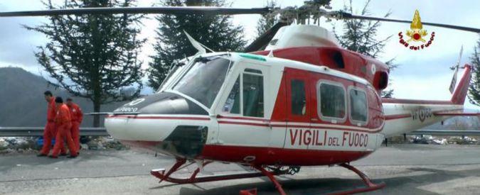 Elicottero Nh500 : Terremoto centro italia fermi gli elicotteri dell ex