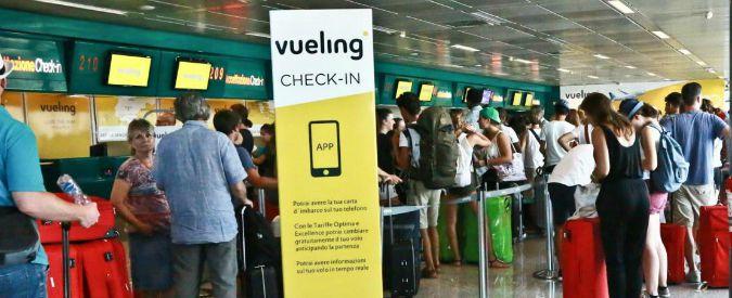 Pratiche commerciali scorrette, multa da 1 milione di euro alla compagnia aerea low cost Vueling