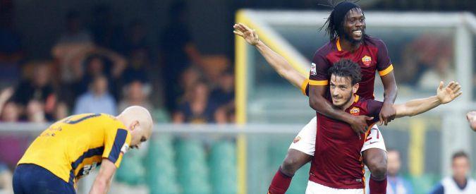 Verona – Roma 1 a 1, partenza a rallentatore per i giallorossi: segna Jankovic, rimedia Florenzi