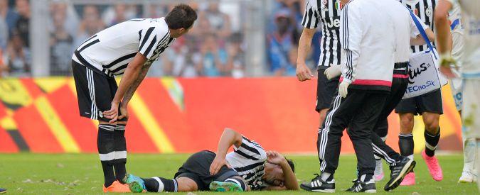 Juventus, Marsiglia da dimenticare: Khedira infortunato e due gol subiti