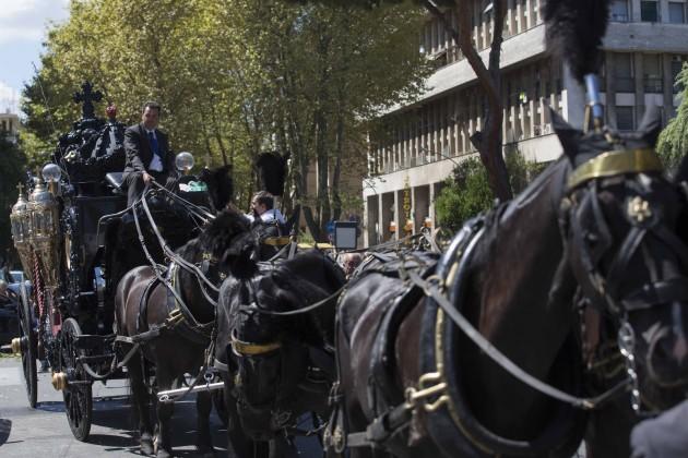 Roma, funerali di Vittorio Casamonica