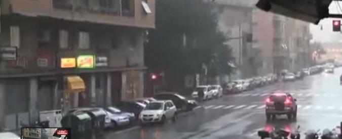 """Liguria, pioggia battente inonda Genova. E' polemica: """"Rischiamo un altro disastro"""""""
