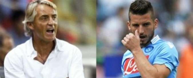 Calciomercato Inter, Mancini vuole Mertens come esterno d'attacco