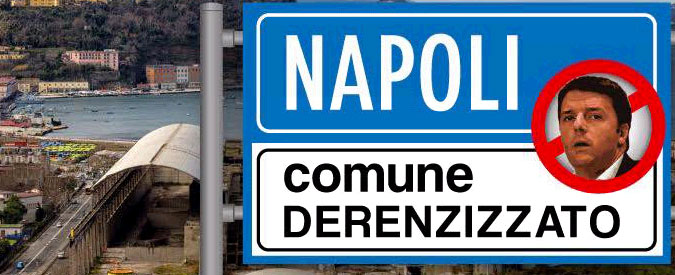 """Napoli, post di De Magistris contro il premier: """"Involuzione antidemocratica. Città derenzizzata"""""""