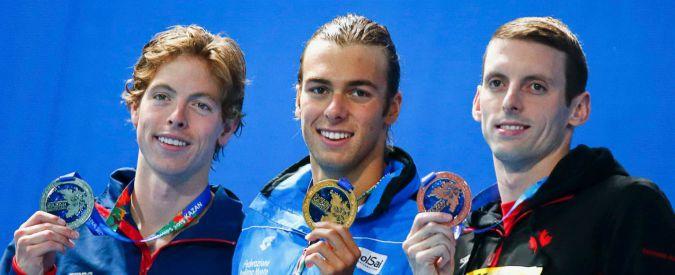 Mondiali di nuoto, Gregorio Paltrinieri primo italiano oro nei 1500 stile libero