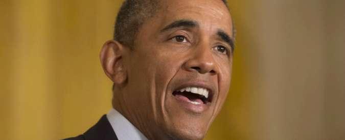 """Obama, piano per l'ambiente: """"Taglio del 32% delle emissioni entro 2030"""""""