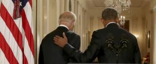 """Presidenziali Usa 2016, Cnn: """"Obama benedice candidatura del suo vice Biden"""""""