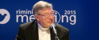 """Finanze vaticane, Pell: """"Irregolarità, da qui prossimo attacco alla Chiesa"""""""