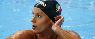 Federica Pellegrini porta le azzurre in finale 4×200 stile libero con il miglior tempo