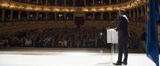 """Tasi e Imu, Renzi: """"Le toglieremo, in Italia tasse esagerate: abbassarle porta equità"""""""