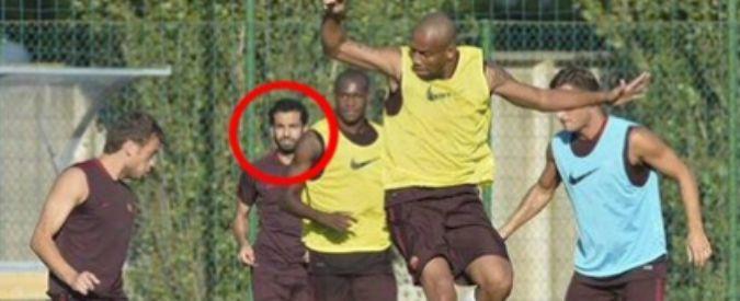 Calciomercato Roma, Mohamed Salah si allena senza transfer