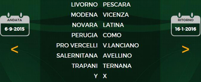 Serie B, ecco il calendario: dopo il caso Catania alla prima giornata X contro Y