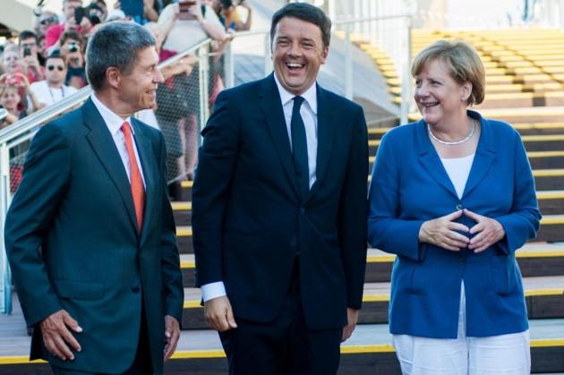 Angela Merkel visita Expo Milano 2015