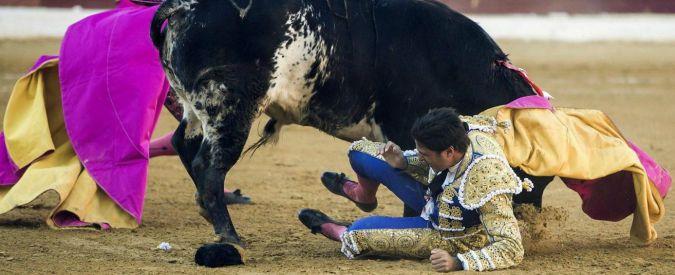 Spagna, alla corrida incornato e calpestato dal toro il matador Ordóñez. E' grave