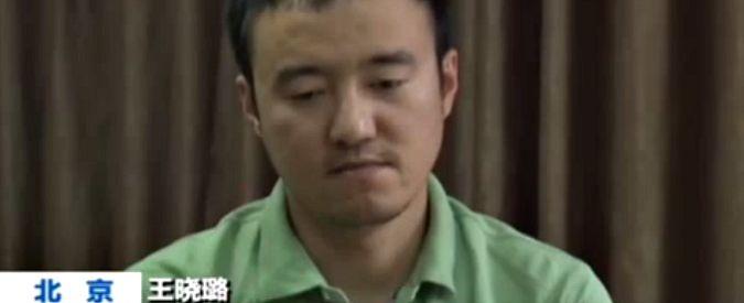 Cina, giornalista arrestato 'confessa' in diretta tv: 'Crollo delle borse? Colpa mia'